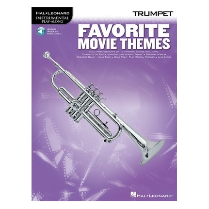 Favorite Movie Themes Trumpet Bk/ola