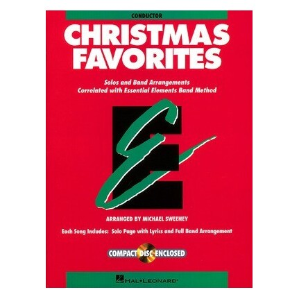 Essential Elements Christmas Favorites Conductor Bk/CD