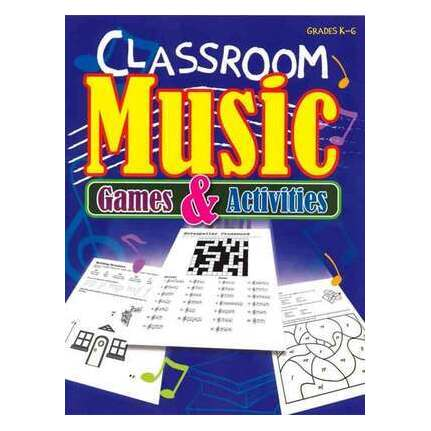 Classroom Music Games And Activities K-gr6