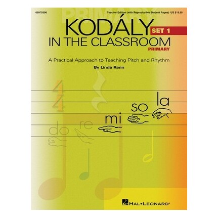 Kodaly In The Classroom Primary Teacher Edition Set 1