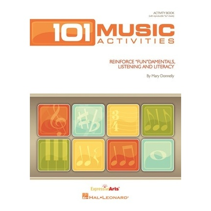 101 Music Activities And Puzzles Reproducable