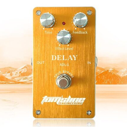 TomsLine ADL-1 Premium Analogue Delay Effects Pedal