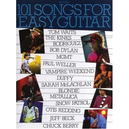 101 Songs for Easy Guitar Guitar Book 8