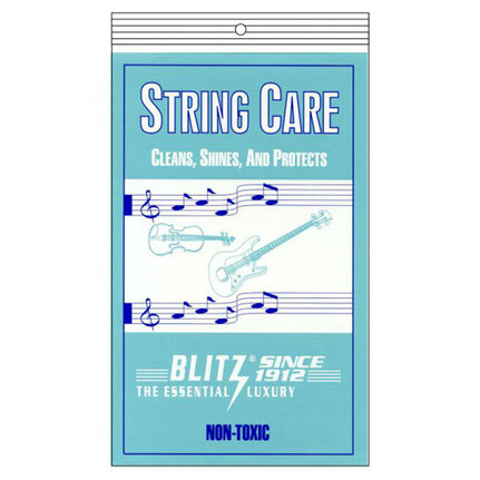 Blitz B301 Guitar String Care Cloth Cleaning Pack