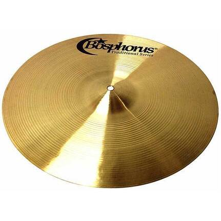 "BOSPHORUS TRADITIONAL SERIES 18"" ROCK CRASH CYMBAL"