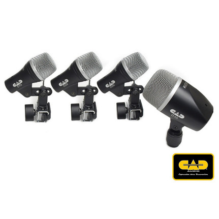 CAD Audio Stage4 4-piece Drum Microphone Pack