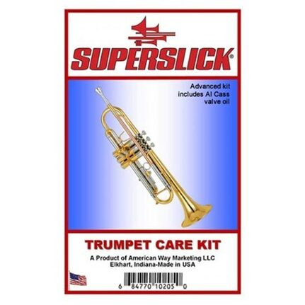 Superslick CK108 Advanced Trumpet/Cornet Care Kit