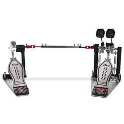 DW 9000 Series Double Kick Drum Pedal With Hardcase - DWCP9002PC