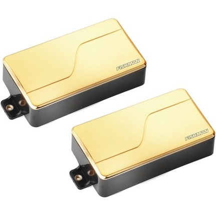 Fishman Fluence Modern Humbucker Pickup Set Gold