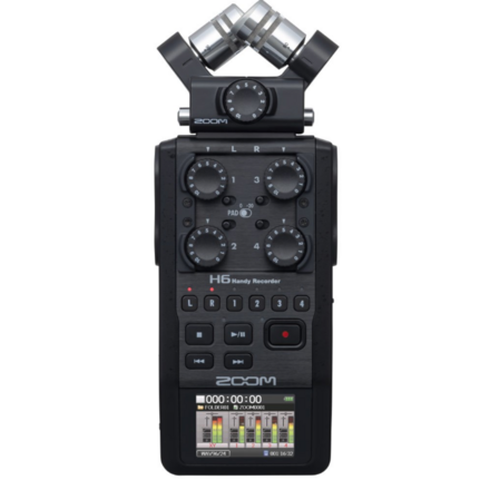 Zoom H6 Black 6-Track Handy Recorder