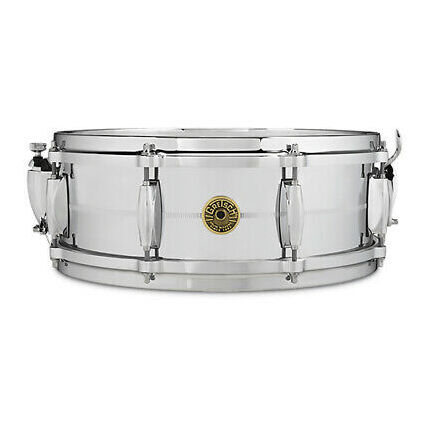 Gretsch Chrome/Brass 5x18Lug Snare Drum G4160