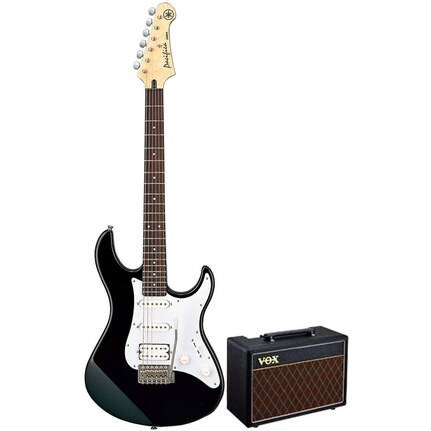 Yamaha Gigmaker10Bl Electric Guitar And Amp Pack Black