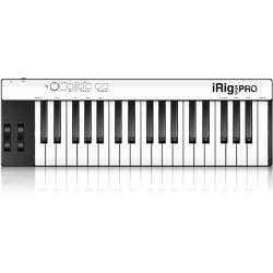 iRig Keys Pro Keyboard Controller 37 Fullsize Keys for iOS Devices/Mac/PC