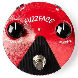 Dunlop JFFM2 Germanium Fuzz Face Mini Distortion Fx Pedal