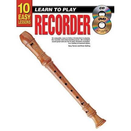 10 Easy Lessons Learn To Play Recorder