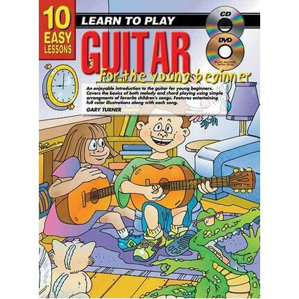 10 Easy Lessons Learn To Play Guitar For The Young Beginner