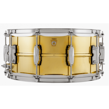 Ludwig Super Brass 6.5 x 14 Snare Drum