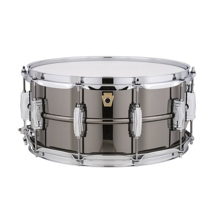 "Ludwig Black Beauty 14"" x 6.5"" Smooth Snare Drum Black Nickel Plated"