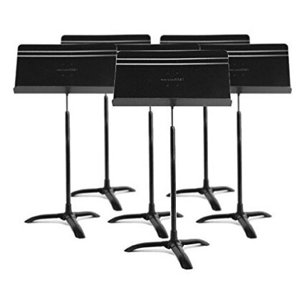 Manhasset Symphony Music Stand Black Set (6 Stands)