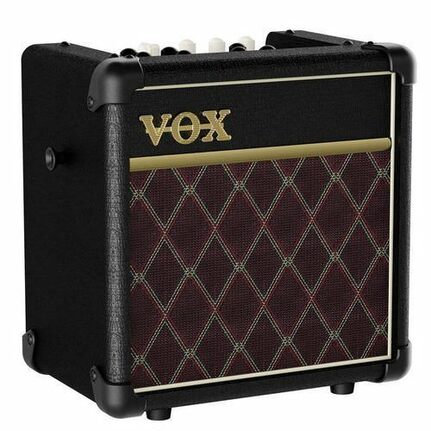 Vox Mini5-Rmcl Rhythm Modeling Guitar Amp Battery-Option W/ Effects Black