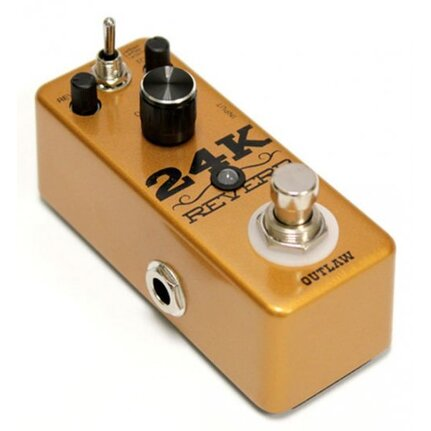 Outlaw Effects Outlaw8 24K Reverb Mini Pedal