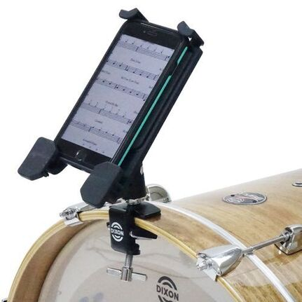 Dixon Bass Drum Hoop Mounted Device Holder