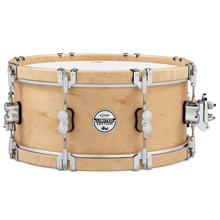 DW Pacific Pdsx0614 14 X 06 Inch Snare Drum Ltd 10Ply Wood Hoop