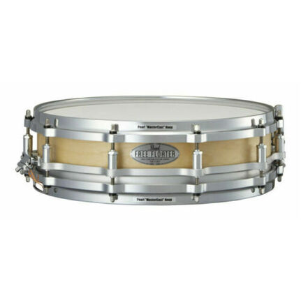 Pearl Snare Free Floater 14 X 3.5, 6 Ply (5.4Mm) Birch