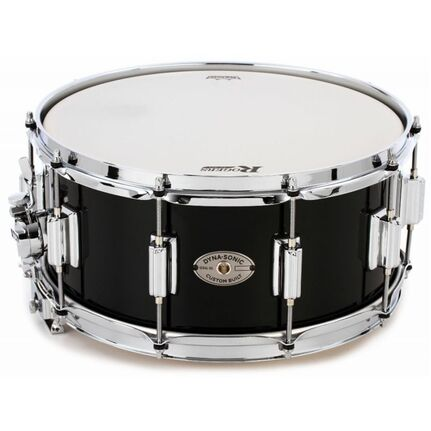 Rogers Dyna-Sonic Custom Series Snare Drum High Luster Black Lacquer 14 x 6.5""