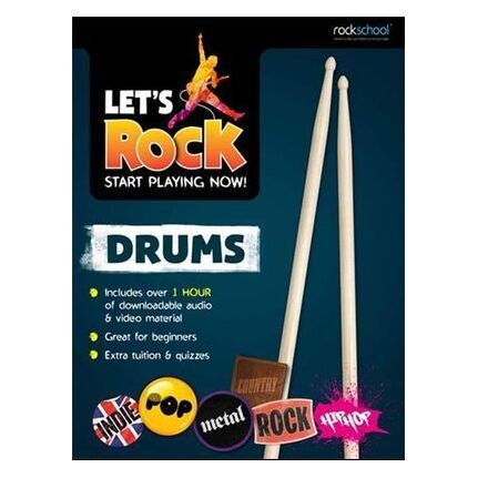 Lets Rock Drums Start Playing Now!