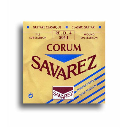 Savarez 504J Corum High Tension (D-4th) Single Classical Guitar String