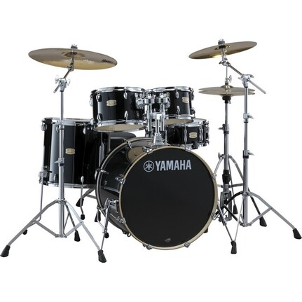 Yamaha Stage Custom Birch 5-Piece Euro Drum Kit Raven Black w/700 Series Hardware