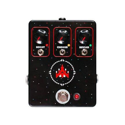 JHS Space Commander Chorus Reverb Boost Fx Pedal