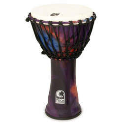Toca 10-Inch Freestyle 2 Woodstock Purple Djembe