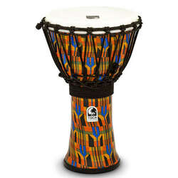Toca 9-Inch Freestyle 2 Series Kente Cloth Djembe