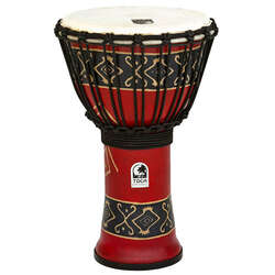 Toca 9-Inch Freestyle 2 Bali Red Djembe