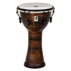 "Toca Freestyle 2 Mechanicially Tuned 10"" Djembe Spun Copper TF2DM10SC"