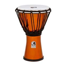 "Toca Freestyle Colorsound 7"" Djembe In Metallic Orange TFCDJ7MO"