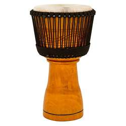 "Toca Master Series Wood Rope Tuned 12"" Djembe With Bag TMDJ12NB"