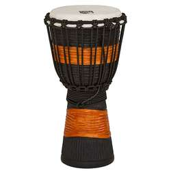 Toca 8-Inch Street Series Djembe Black & Brown Hand Drum