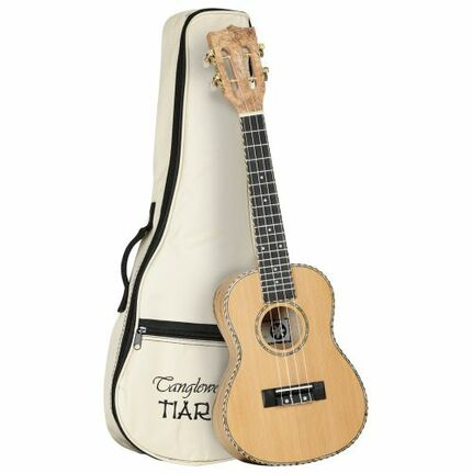 Tanglewood TWT11B Tiare Concert Ukulele Cedar/Spalted Maple with Bag