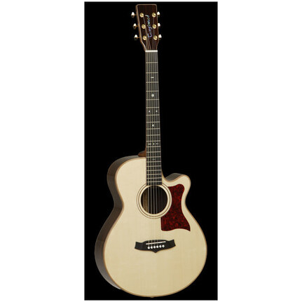 Tanglewood Tw45Hsr-Lrb Acoustic-Electric Guitar Natural With Pickup