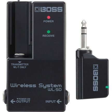 Boss WL50 Guitar Wireless System For Pedalboards