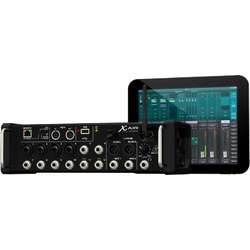 Behringer X AIR XR12 12-Input Digital Mixer for iPad/Android Tablets with MIDAS Preamps