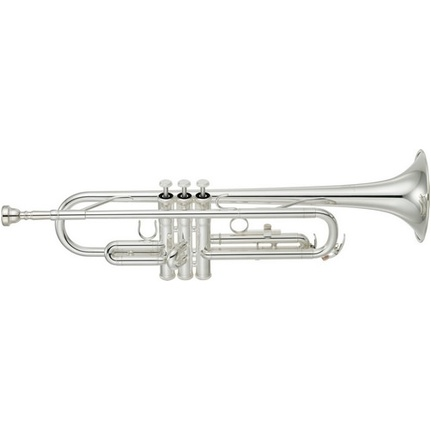 Yamaha Ytr2330S Trumpet Silver-Plated In Case