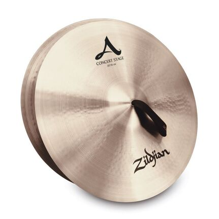 "A0466 20"" A Zildjian Concert Stage - Pair Band & Orchestral Cymbals"
