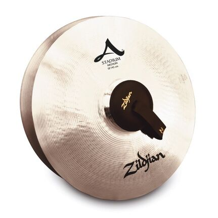 "A0483 18"" A Zildjian Stadium Series Medium Pair Band & Orchestral Cymbals"