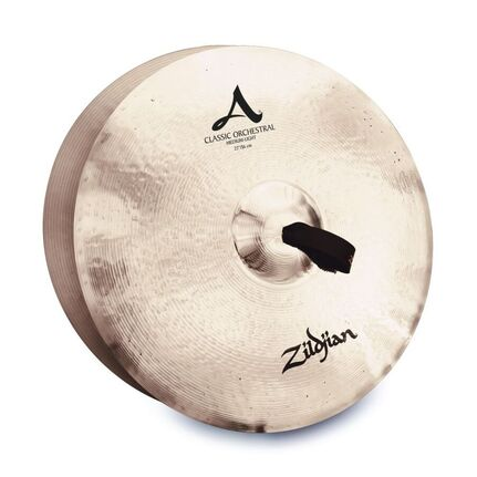 "A0771 22"" A Zildjian Classic Orchestral Selection Medium Light - Pair Cymbals"