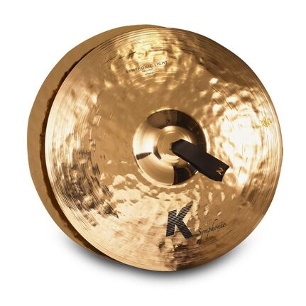 "Zildjian K2014 18"" K Symphonic Light Brilliant Pair Band & Orchestral Cymbals"